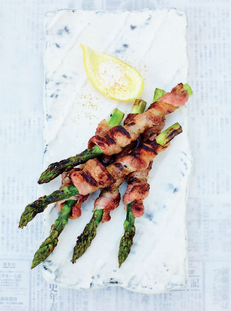 Aspara-bacon kushi recipe from Junk Food Japan by Scott Hallsworth | Cooked