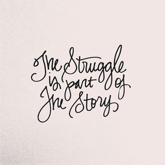 The Struggle Is Part Of The Story! Mom to be | pregnancy | baby on board | pregnancy quote | quote of the day | qotd