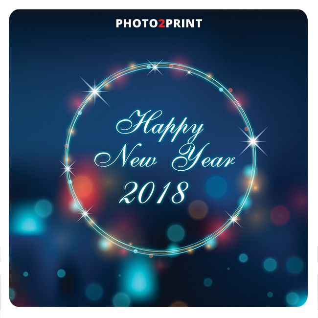 A Happy and prosperous New Year from all of us at Photo2Print! #happyhappy #happynewyear #best2018