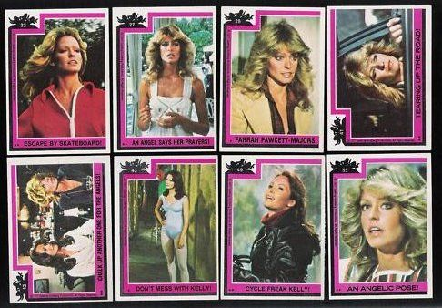 Charlies Angel trading cards.  I don't know how much money I spent on those things and I never completed a set.