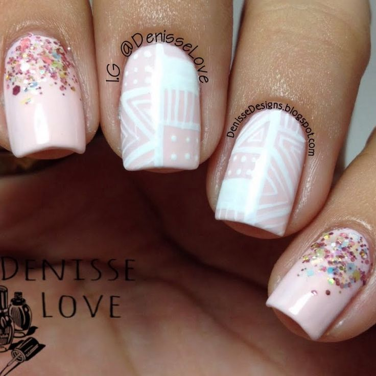 Make your nails delightfully dainty in Denisse O's #manicure masterpiece. Click through to check out her must-haves.