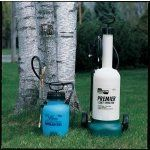 CHAPIN 2021L Handheld Sprayer,1 gal.,Polyethylene by Chapin. $57.55. Handheld Sprayer, Lawn/Garden, Tank Capacity 1 gal., Tank Material Polyethylene, In Tank Filter Yes, Hose Length 42 In., Fill Opening Size 4-1/2 In., Pressure Release Yes, Wand Material Brass, Nozzle Type Adjustable Cone, Nozzle Material Brass, Hose Material Viton(R), Wand Length 12 In.Pressure Range 45 psi, Seal/Gasket Material Viton(R)Compatible With Herbicides, Pesticides, Fertilizers