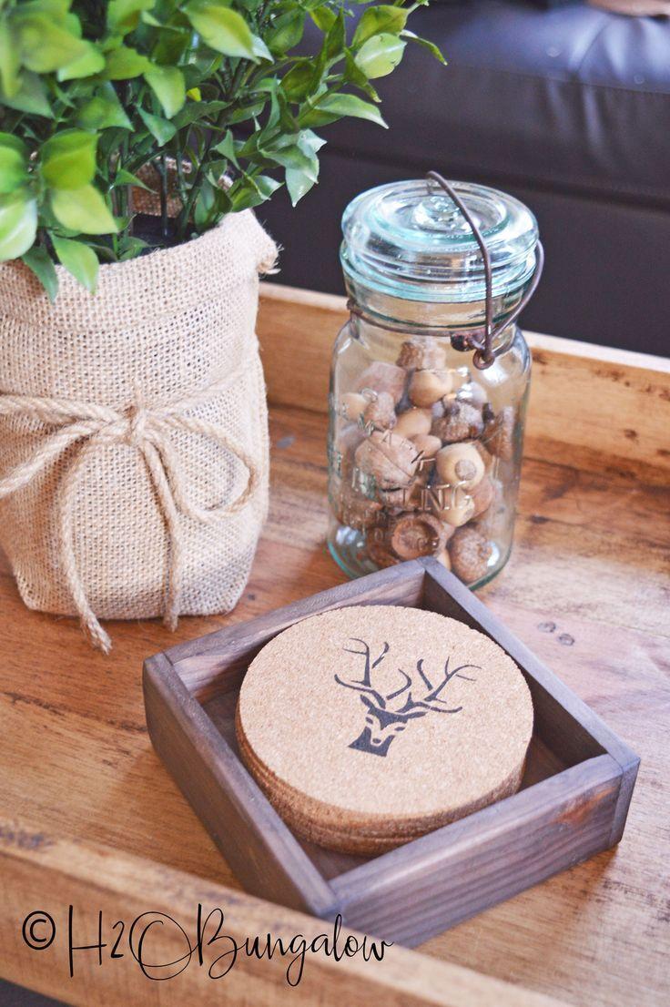 Best 25 Rustic Coasters Ideas On Pinterest Wood