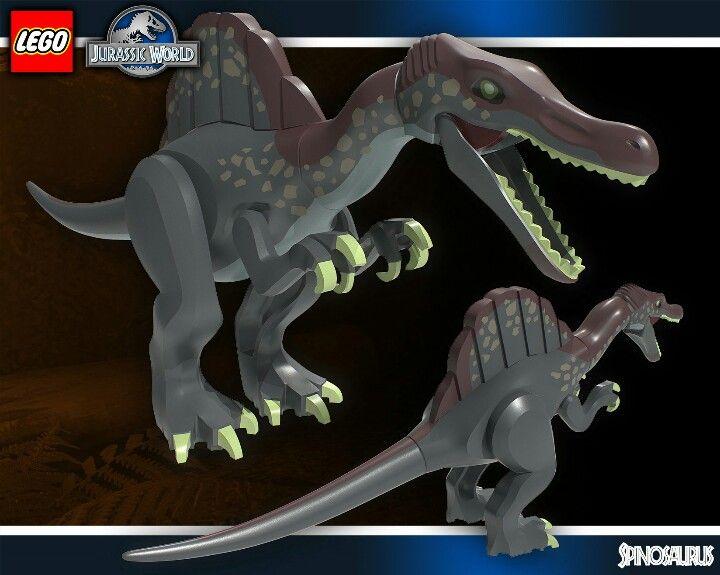 Lego spinosaurus lucas lego jurassic world lego jurassic park jurassic world - Lego dinosaurs spinosaurus ...