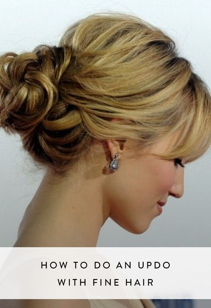 thin hair up styles 1000 ideas about hair updo on wedding 5221