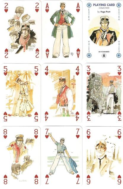 Corto Maltese Cards