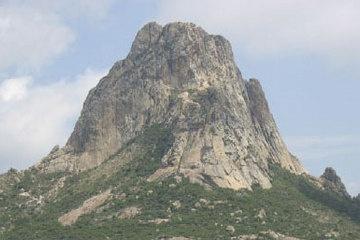 Pena de Bernal Monolith in Mexico