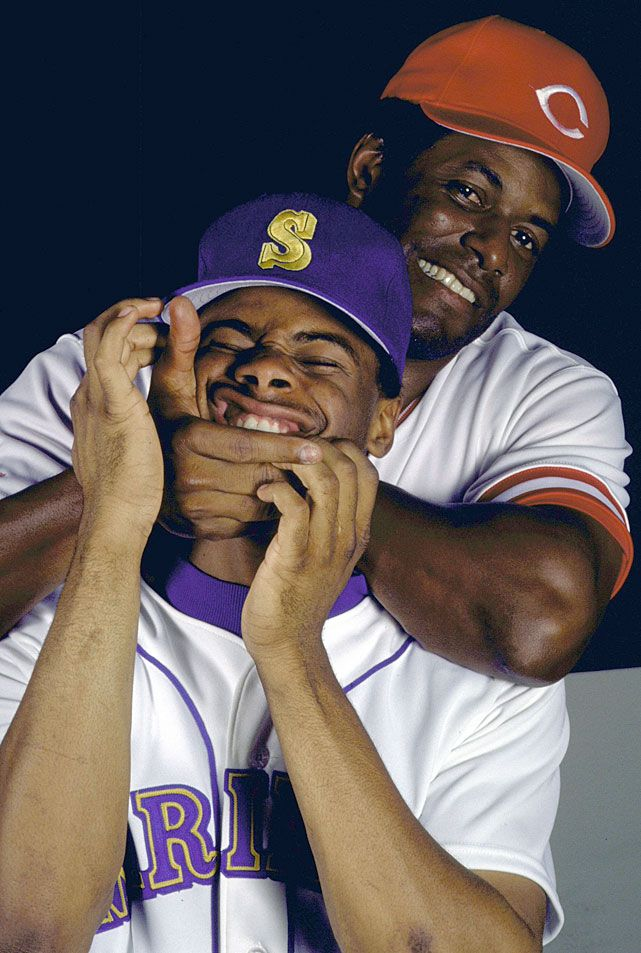 Griffey Jr and Sr