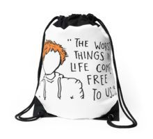 """the worst things in life come free to us quotes"" T-Shirts & Hoodies by angkyazizi 