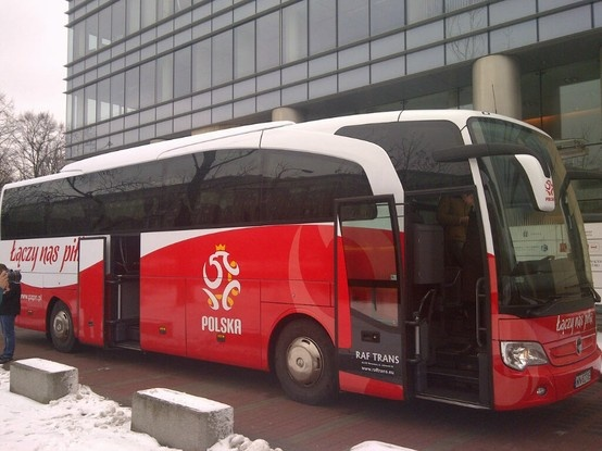 new official bus of Polish National Team