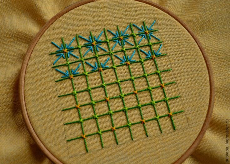 Техники декоративной вышивки