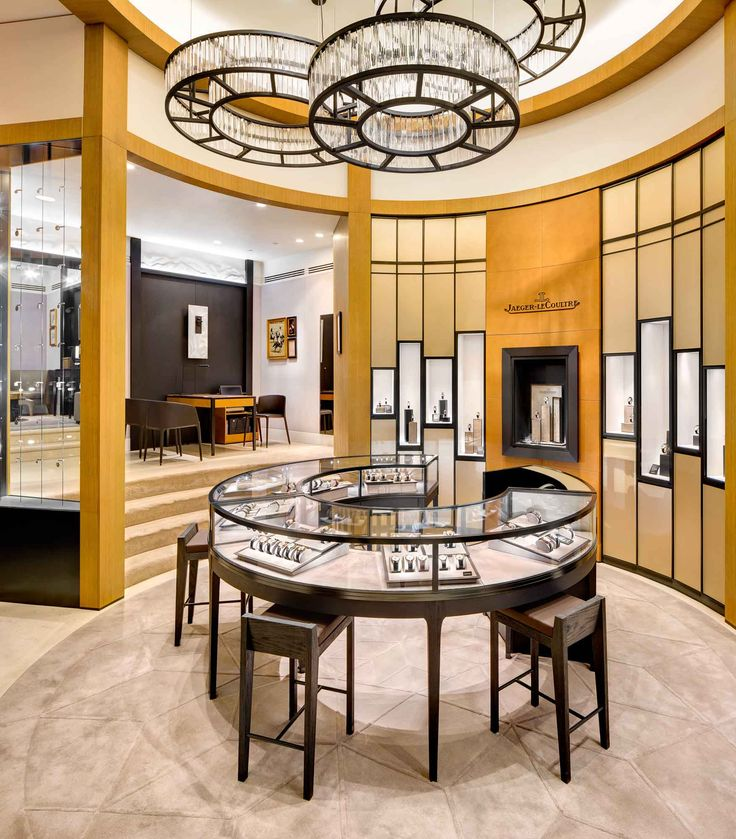 Jaeger-LeCoultre New York Boutique interior