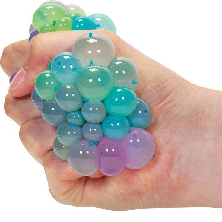 Squishy Animal Balls : Rainbow Squishy Mesh Ball - Only ?2!! Cute animals Pinterest Rainbows and Mesh