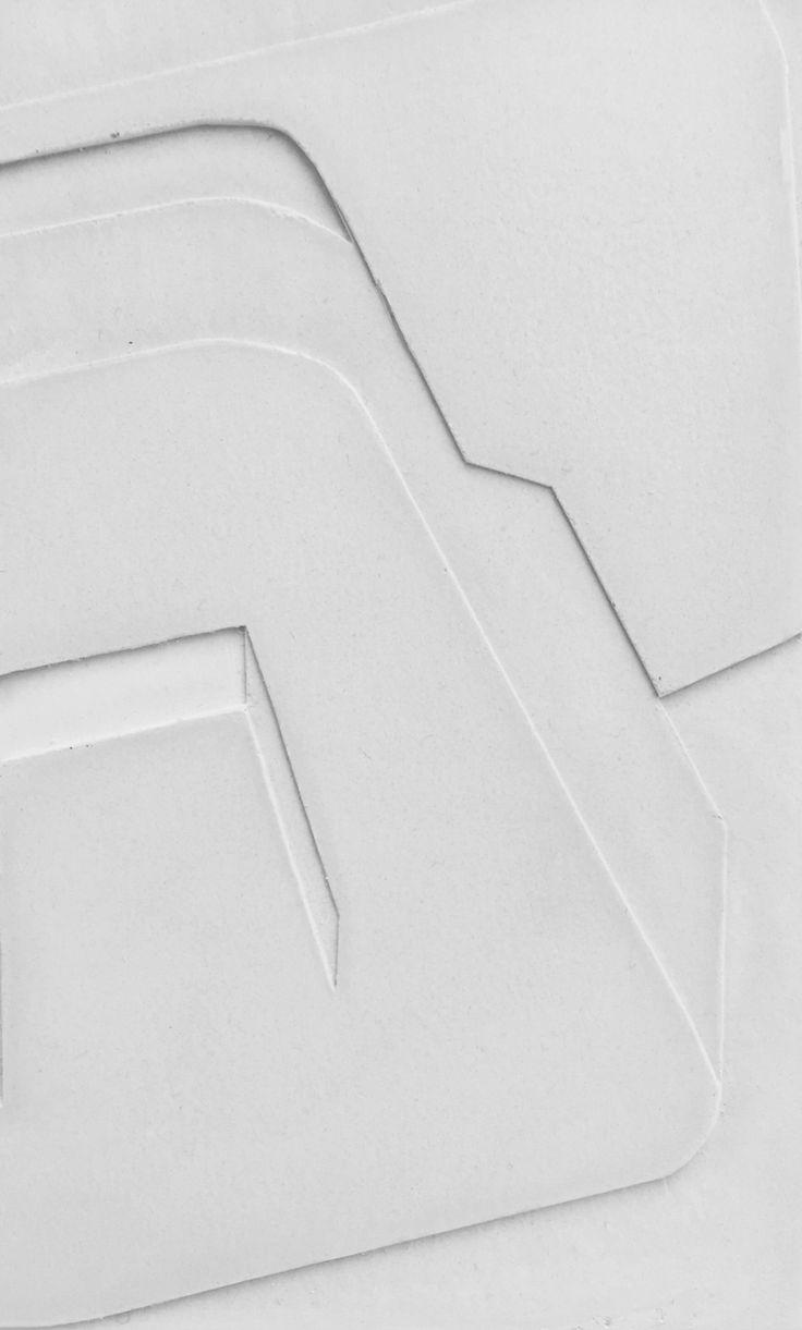 Plaster relief by Nicolai Vittrup