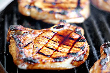 Simple Grilled Tuscan Pork Chops