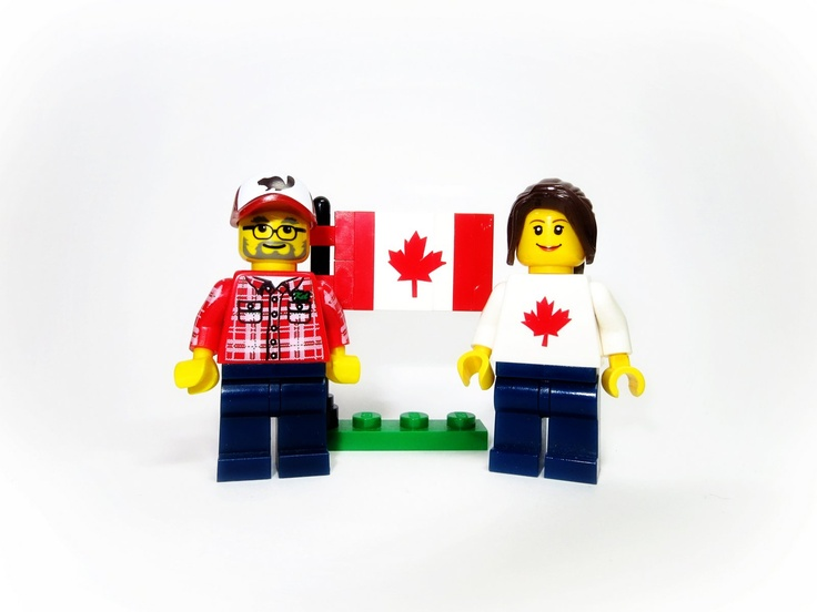 Wood doesn't grow on trees: Lego Photo #6: Happy Canada Day!!!