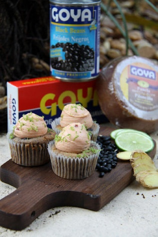 black bean and guava cupcakes