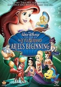 The Little Mermaid - Ariel's Beginning (DVD, 2008) Brand New & Factory Sealed~Ships Free!
