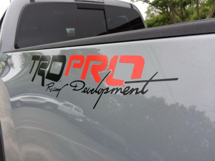 Best Toyota Racing Development TRD Images On Pinterest - Vinyl decals for race carspopular trd vinyl decalbuy cheap trd vinyl decal lots from china