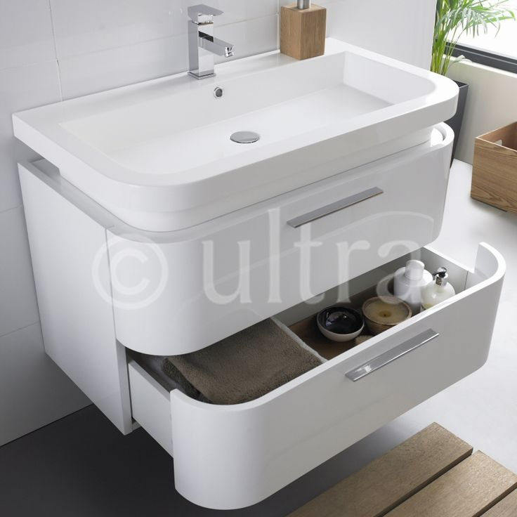 The Oblique vanity unit will create a stylish feature in any modern bathroom