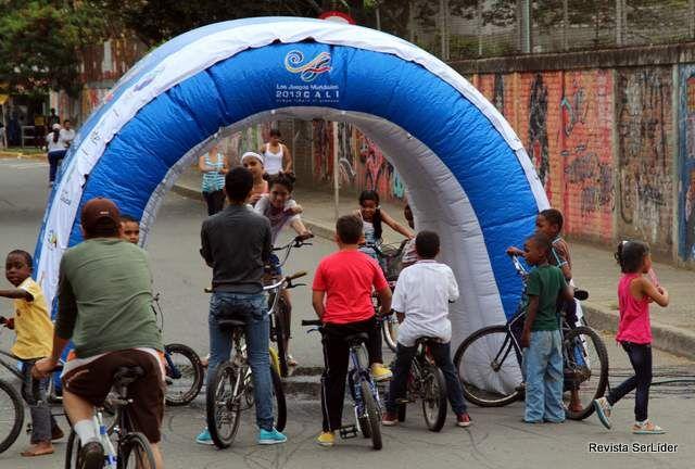 Ya conociste las 'duchas' de la ciclovía, nuevas ideas para un domingo deportivo en Cali