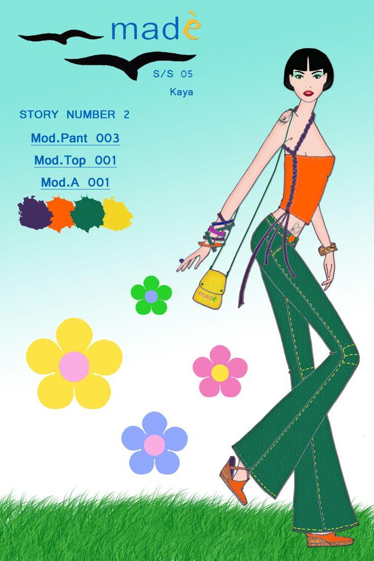 story 2 mod pant 003 + top 001