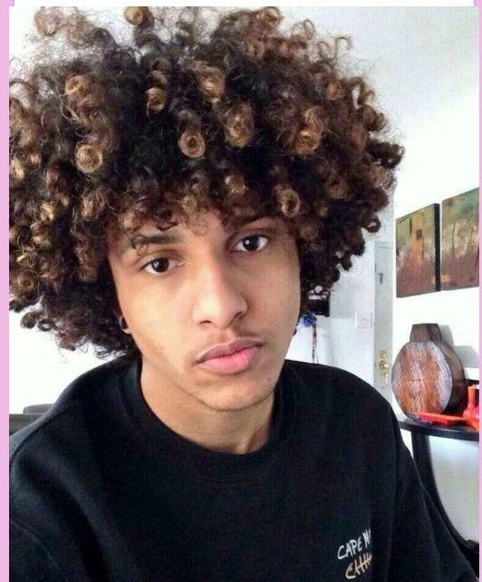 1000 Ideas About Men Curly Hairstyles On Pinterest  Men