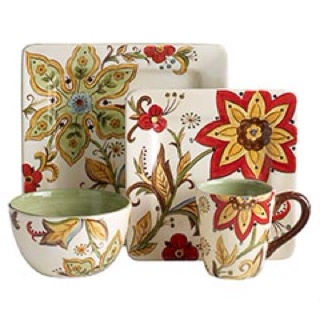 I've been wanting these Pier One dishes for awhile...maybe Christmas? :)