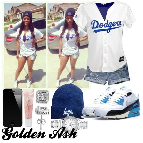 Dodgers Hype, created by fashionsetstyler on Polyvore