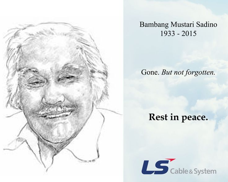 Selamat pagi, rekan LS smile emoticon Kemarin sore, #Indonesia kehilangan salah satu pengusaha nyetrik yang menjadi inspirasi banyak orang.  Bambang Mustari Sadino atau yang lebih familiar dengan nama #BobSadino, berpulang ke sisi Tuhan YME kemarin sore setelah 2 minggu dirawat.  Keluarga besar LS Cable #Indonesia mengucapkan belasungkawa yang sebesar-besarnya kepada keluarga #BobSadino yang ditinggalkan.  Gone, but not forgotten. Rest in peace, @b0bsadin0 . #RIPBobSadino