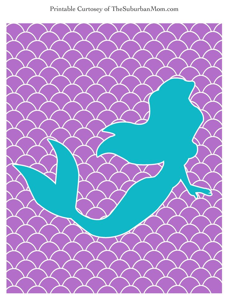 little mermaid printables - Google Search
