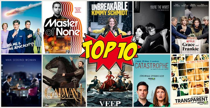 Migliori Serie TV 2015: 10 comedy da non perdere più altre 10 bonus per un anno all'insegno delle diverse sfumature della risata