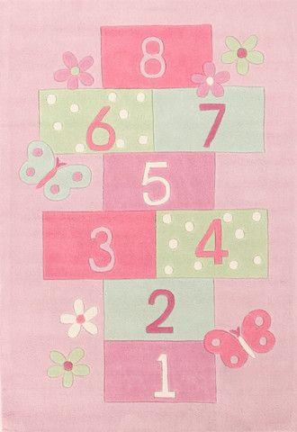 Rugs - Kub 120 Pink Kids Rug