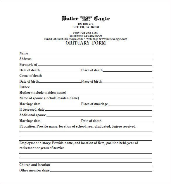 Fill In The Blank Obituary Template - http://www.valery-novoselsky.org/fill-in-the-blank-obituary-template-1838.html