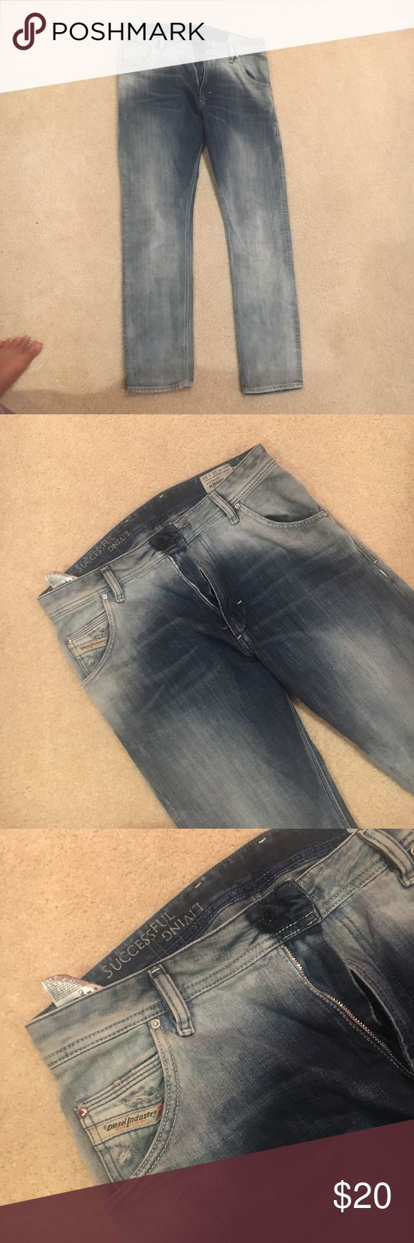 Diesel Denim Kepler Jeans Like new, Diesel denim krooley regular slim carrot 32/33 Diesel Jeans Straight