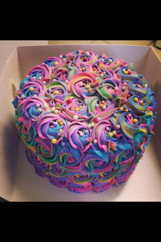 Cookie Swirl C Trolls Cake