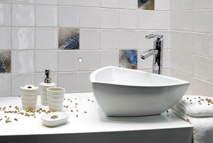 Les 190 meilleures images propos de salle de bain for Carrelage universel