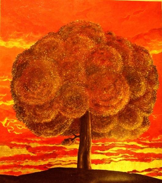 Tree, acril,canvas. 2000Euro | Alexey Azarov // AZART Studio Agent Yulia +7925-858-7564