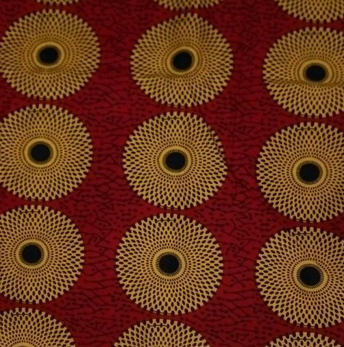 This African Print Is 100% Cotton Material. Guaranteed Wax Print And  Machine Washable.