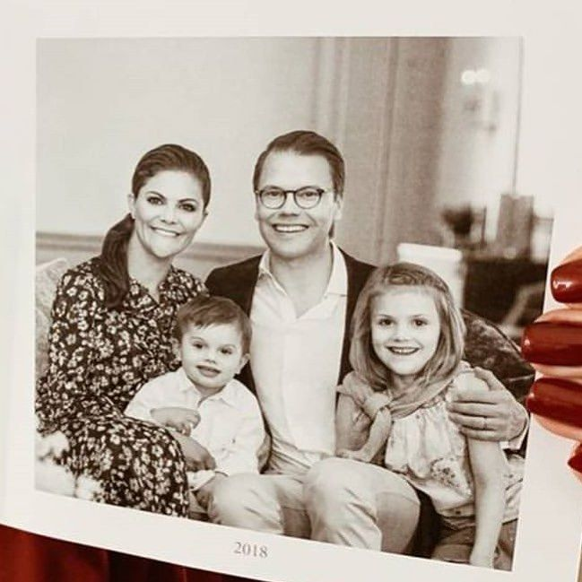 Swedish Royal Family On Instagram This Year S Christmas Card
