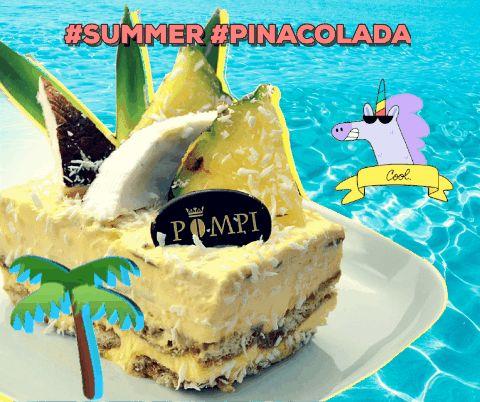 #summer #pinacolada #coconut #pineapple #tiramisù #pompi