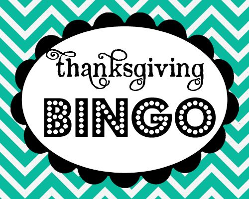 Project for the kids! {Thanksgiving Bingo *Free Printable Download}