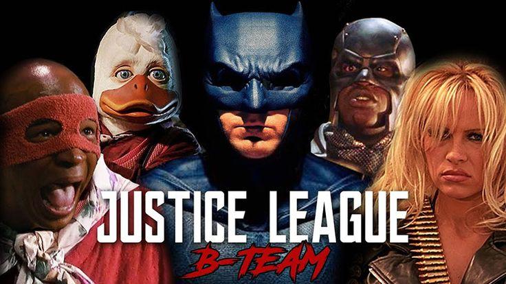 Batman Unites an Oddball B Team When the Original Justice League Superheroes Aren't Available