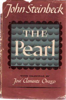 First edition of The Pearl by John Steinbeck, 1947.
