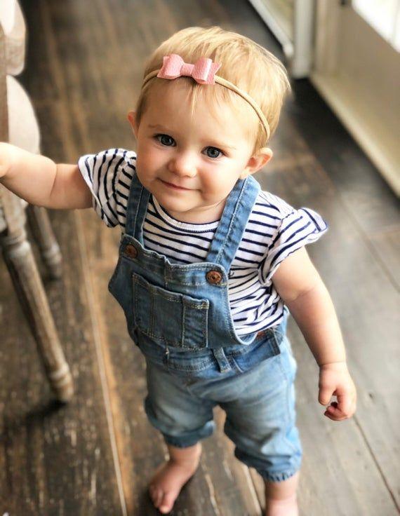 Tiny Leather Bow Headband Leather Bow Headband Boho Headband Infant Headband,Baby Headband Tiny Suede Bow Suede Bow Suede Bow Headband