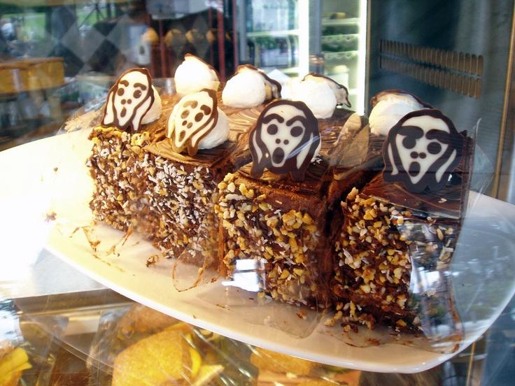 'Scream' cake at the Munch Museum