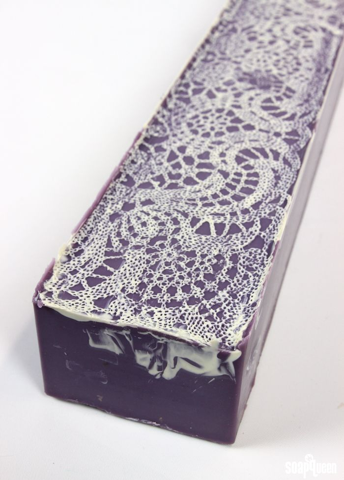 The first time I saw lace soap was while browsing Auntie Clara'sblog. Clara Lindberg of Auntie Clara's Handcrafted Cosmetics is an extremely talented soapmaker, and generously shared how she created her stunning lace-topped soap in this tutorial.After months of gawking, I finally tried the technique myself. To achieve the lace pattern on the top, pourable …