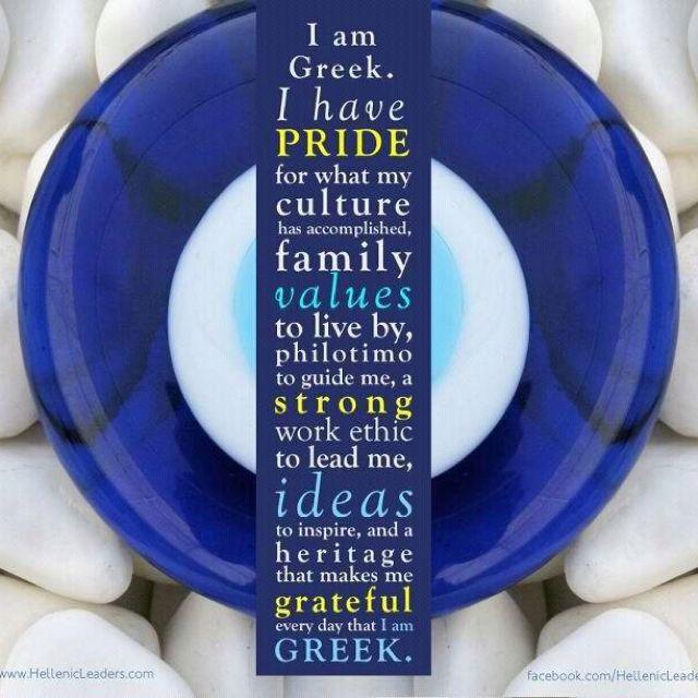 Being a Greek...