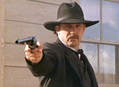 Wyatt Earp's image as a hero vigilante is cemented in popular culture For more than Here, Kevin Costner portrays Earp as a righteous. Description from maudeyeo384.sourceforge.net. I searched for this on bing.com/images