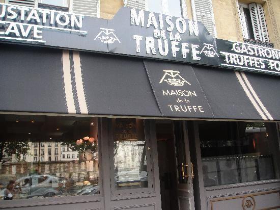 Maison de la Truffe shop and resto